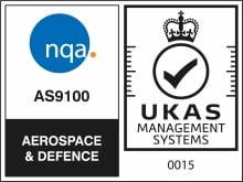 NQA AS9100 UK LOGO