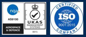 NQA - ISO logos